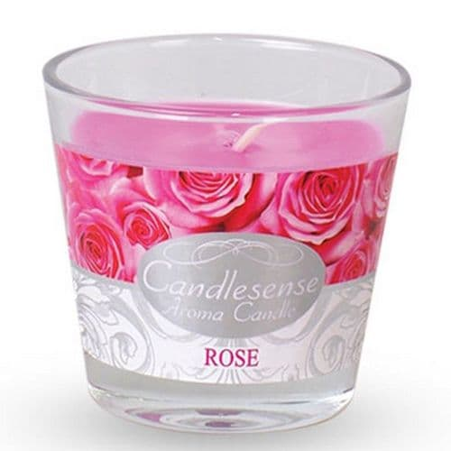 Scented Jar Candle - Rose